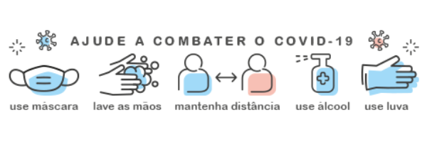Ajuda a combater o Covd-19