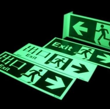 Placa Fotoluminescentes Normatizadas